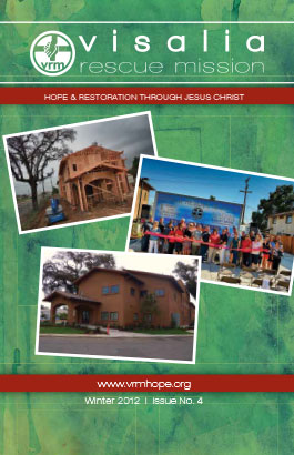 Visalia Rescue Mission Newsletter